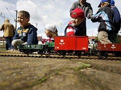 Drezínový den v Železničním muzeu v Rosicích nad Labem