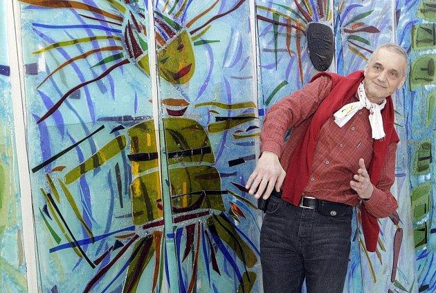 David Vávra v holickém muzeu