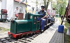 setkání majitelů zahradních, parkových a modelových železnic.