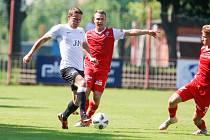 Fotbalové utkání ČFL: FK Pardubice B - TJ Sokol Živanice