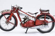 Ukradená Jawa 175 Speciál z roku 1935.