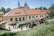 Na valy pardubického zámku se nastěhovala děla, která v 16. století střežila hlavní sídlo rodu Pernštejnů.