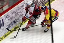 V českobudějovické Budvar Aréně pokračovala baráž zápasem Motor-Pardubice