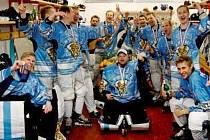 Mistři světa v inline hokeji - Finové.