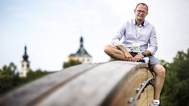 Manažer Sportovního parku Pardubice Pavel Stara.