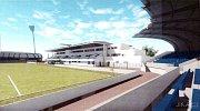 Návrh možné podoby letního stadionu.