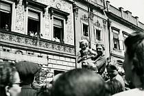 Květen 1945 v Pardubicích.
