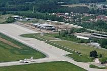 Letiště v Pardubicích.