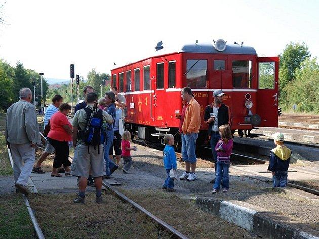 Milovníci železnice si v Heřmanově Městci přišli na své