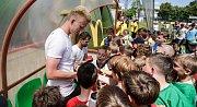 Krajské finále fotbalového McDonald's Cupu na hřišti Pod Vinicí v Pardubicích.