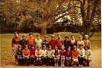 Nejmenovaná třída, rok 1980.