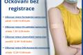 Omezení očkování bez registrace