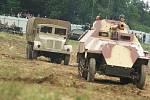 Ukázky bojů druhé světové války na Tankovém dni v Lešanech