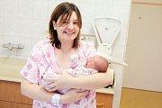 KATEŘINA KOLESÁROVÁ se narodila 2. října ve 21 hodin a 35 minut. Měřila 49 centimetrů a vážila 3340 gramů. Maminku Marii u porodu podpořil tatínek Radovan. Rodina žije v Dolní Rovni.