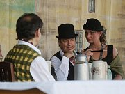 Oslavy 140 let založení pardubického pivovaru.