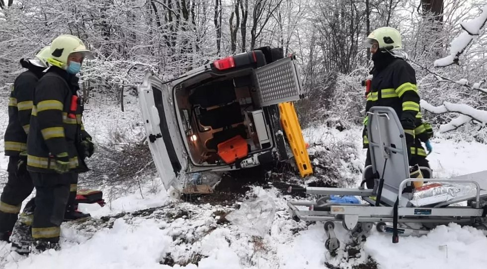 Nehoda Hlinné na Rychnovsku
