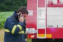 Vladimír N. se policistům přiznal k založení devíti požárů v okolí Lázní Bohdanče.