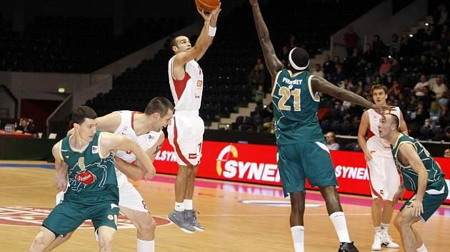 ČEZ Basketball Nymburk - KK Union Olimpija Lublaň 72:85