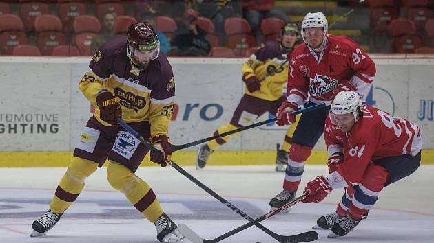 Přípravné hokejové utkání: Jihlava - Pardubice 1:3