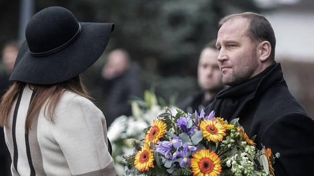 Se Zbyňkem Kusým se dorazil rozloučit i Jiří Šlégr