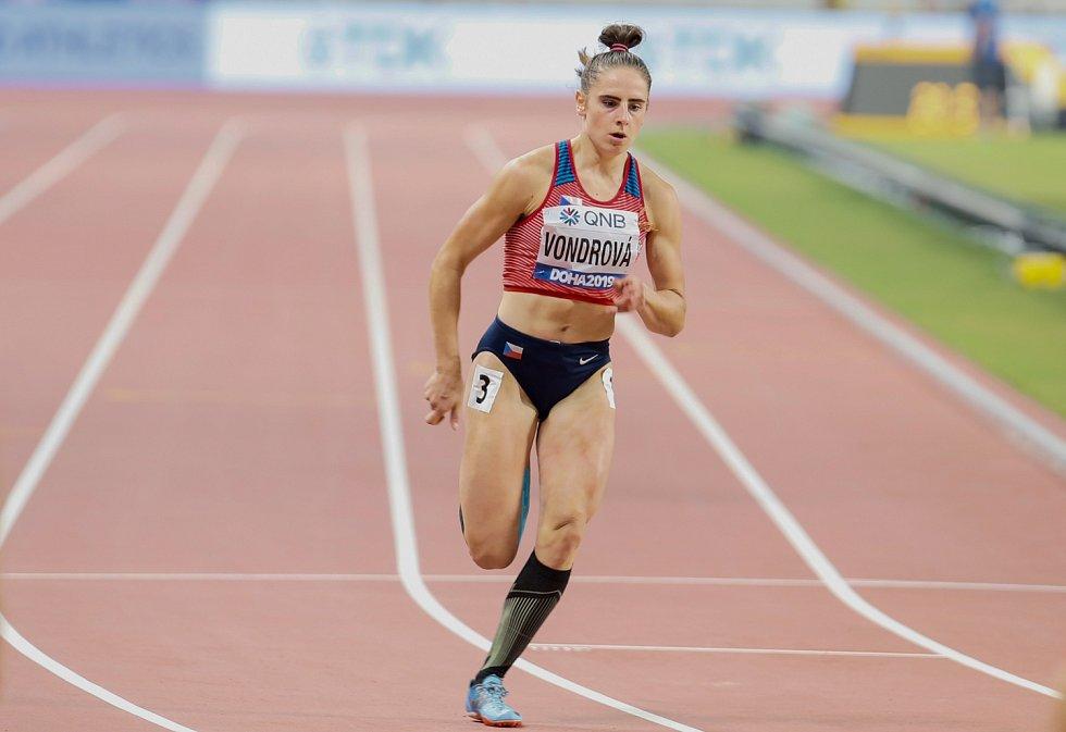Atletka Lada Vondrová