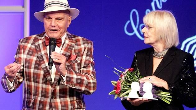 Cena Františka Filipovského za celoživotní mistrovství v dabingu, Marie Drahokoupilová a Jan Přeučil