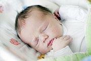 TOMÁŠ HAVLÍČEK se narodil 20. září v 17 hodin a 25 minut. Měřil 47 centimetrů a vážil 2980 gramů. Rodiče Tereza a Oldřich bydlí v Sopřeči a doma na ně čeká tříletý Filip.