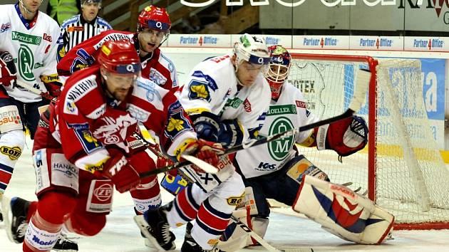 Pardubice nakonec podlehly Třinci 3:2