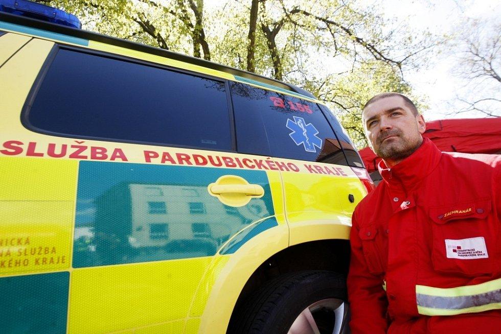 Den Pardubického kraje měl veřejnosti přiblížit fungování úřadu i jeho institucí - třeba záchranné služby.