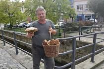 Ivan Palatáš, dlouholetý houbař ze Stíčan