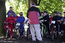 Masarykova základní škola připravila nejen pro své žáky cyklozávod po okolí Rovně