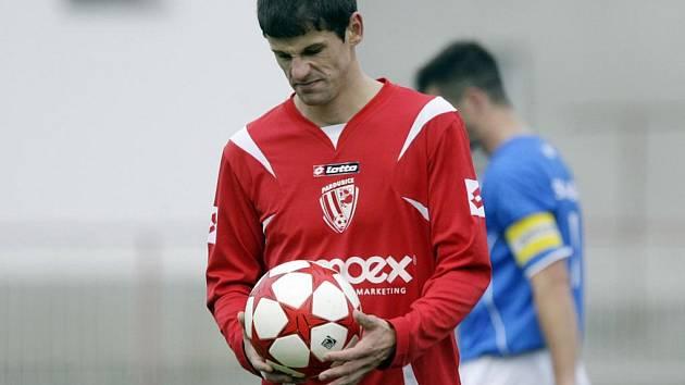 ČFL: Z fotbalového  zápasu Pardubic proti Kladnu