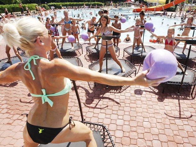 Kubánská párty v Aquacentru
