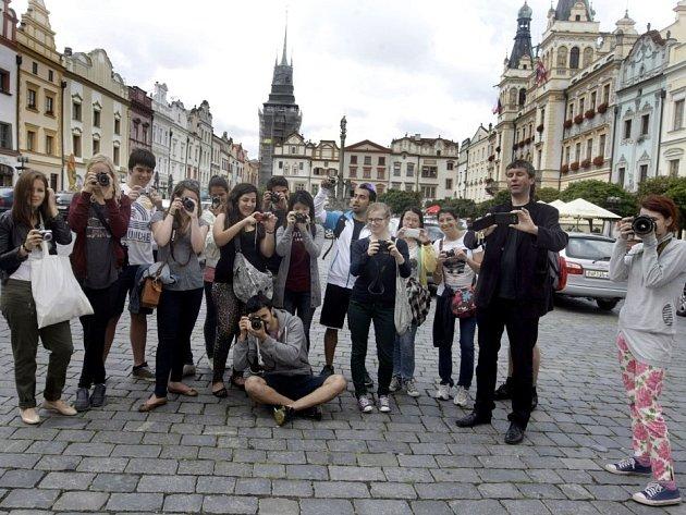 Město Pardubice pod objektivem cizinců