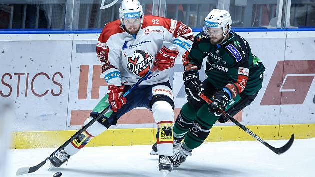 Hokejová extraliga - 28. kolo: Pardubice - Karlovy Vary