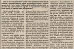 Čtvrtá strana Pardubických novin ze dne 17. října 1992. Zdroj: Státní okresní archiv Pardubice