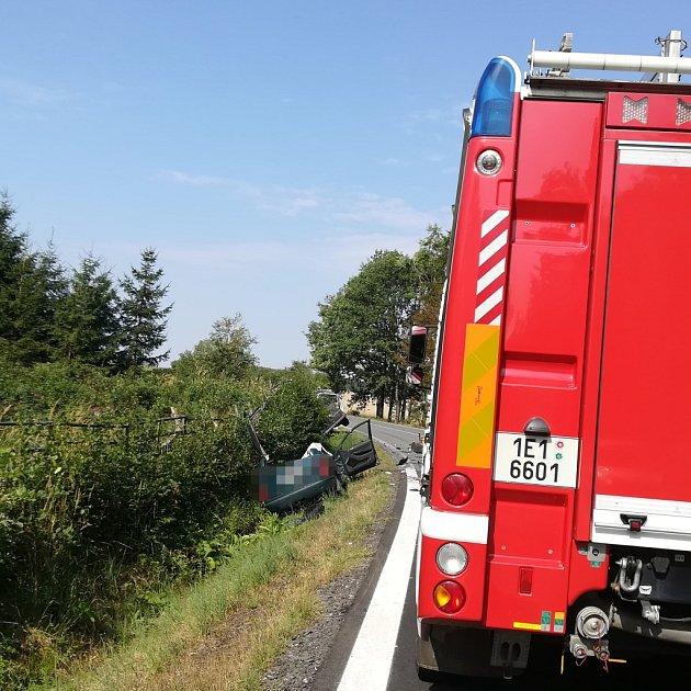 Vážná dopravní nehoda uStojic.
