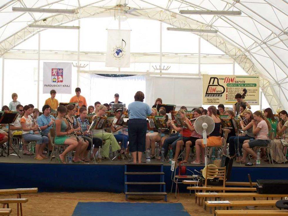 Český hudební tábor v Horním Jelení