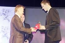 Vyhlášení krajského kola soutěže Sportovec roku 2013 v Holicích.
