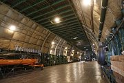Nákladový prostor obřího letounu pojme až 150 tun materiálu.