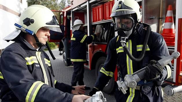 Ostřetínští hasiči v akci