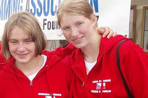 Michaela (vlevo) a Lenka Štěrbová