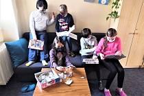 Děti ve školní družině.