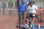 22. ročník Velké ceny města Pardubic handicapovaných sportovců na Městkém atletickém stadioně v Pardubicích.
