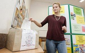 Studentské volby nanečisto