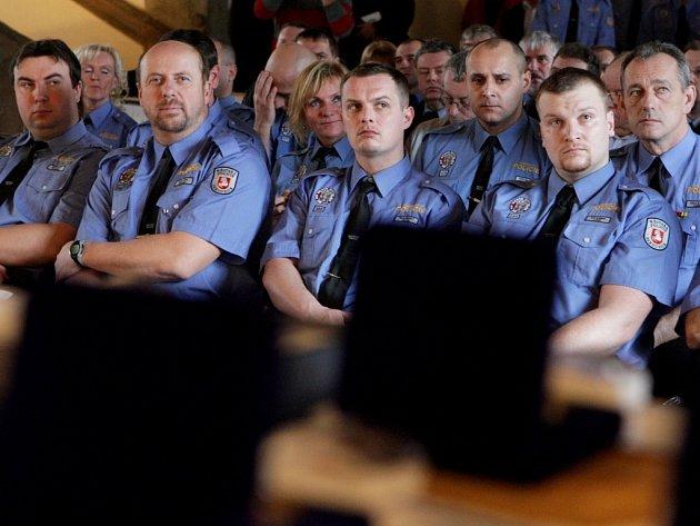 Městská policie Pardubice slavila dvacet let své existence.