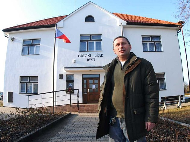 Starosta Býště Ladislav Mlateček