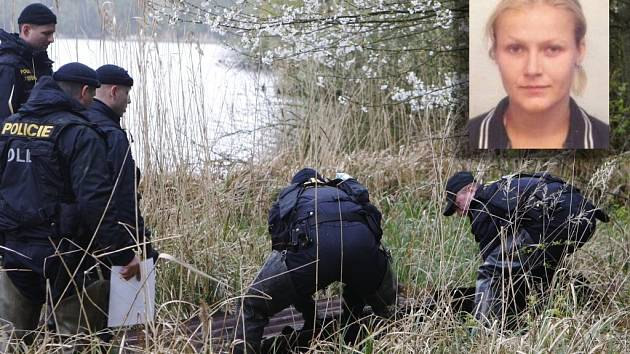 Pohřešovanou ženu hledali policisté u rybníku Pohránov. Stala se obětí vraždy.