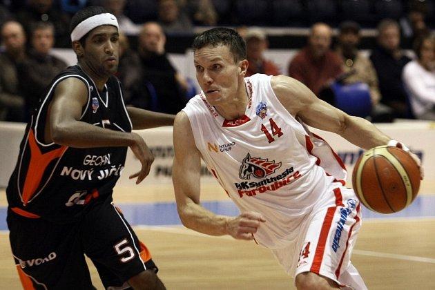 V pardubické ČEZ Areně se konalo basketbalové utkání Mattoni NBL mezi BK Synthesia Pardubice a Geofin Nový Jičín.