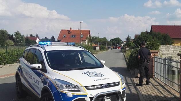 Evakuaci dvanácti domů si vyžádal únik plynu ve Vilémově ulici v Lázních Bohdanči.